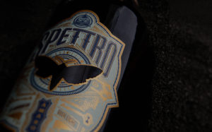 Spettro bottle close-up