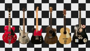 Kevin's guitar collection