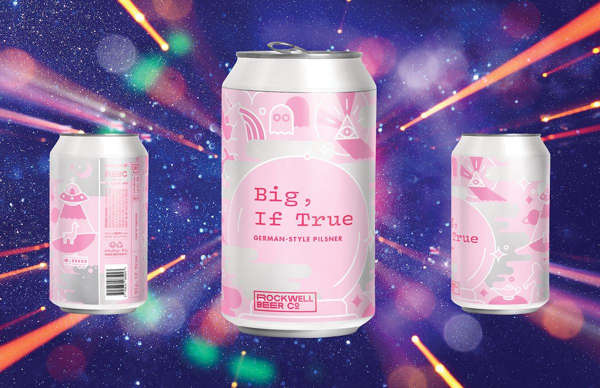 Shot of Big, If True Beer Can