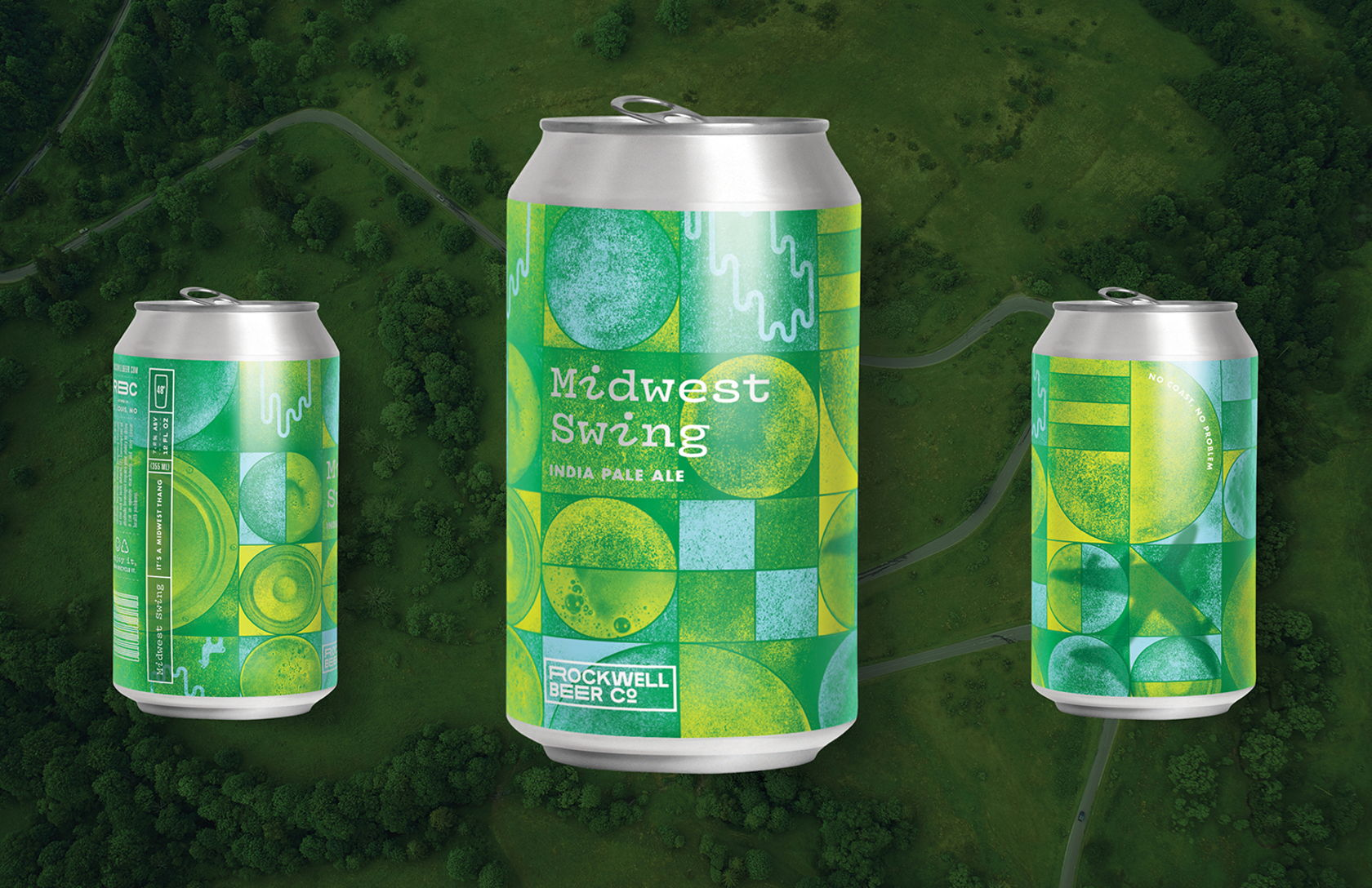 Shot of Midwest Swing Beer Can