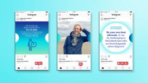 Sjögren's Foundation Instagram Mockups