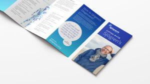 Sjögren's brochure unfolded