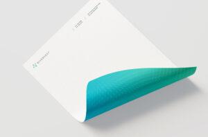 RiveVest branded letterhead