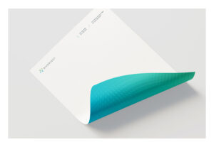 RiverVest letterhead front and back