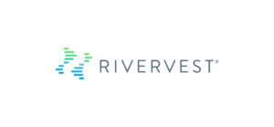 RiverVest logo white background