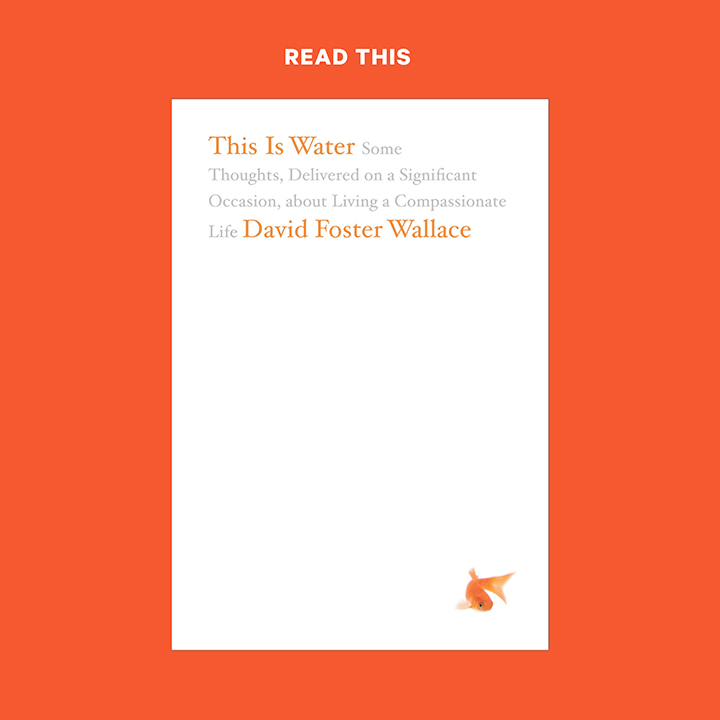 """""""This Is Water"""" Book Cover"""