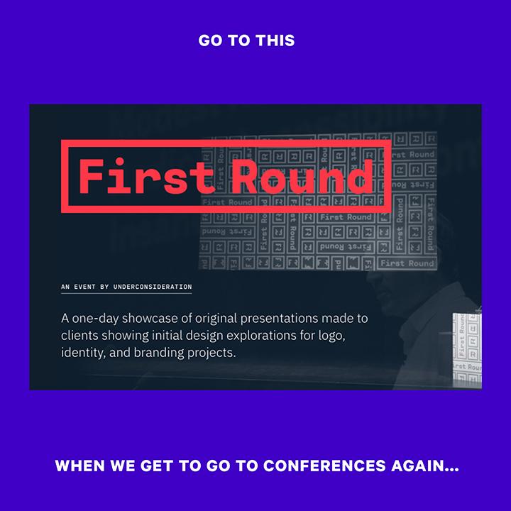First Round Graphic