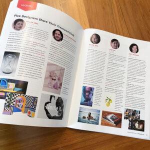 "Communication Arts Magazine ""Favorites"" Spread"