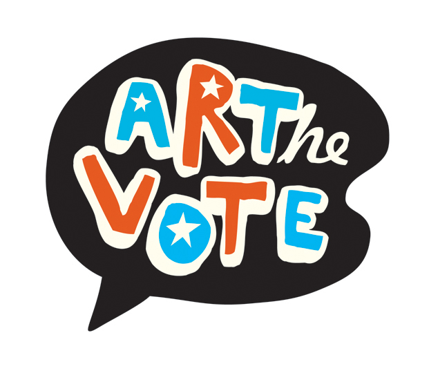 Logo for Art the Vote