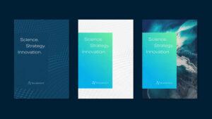 Three RiverVest brochure covers