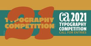 CA Typography Call for Entries Graphic