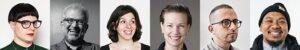 Headshots of CA Typography 2021 Judges