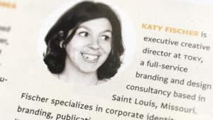 Katy Fischer bio in CA Typography 11
