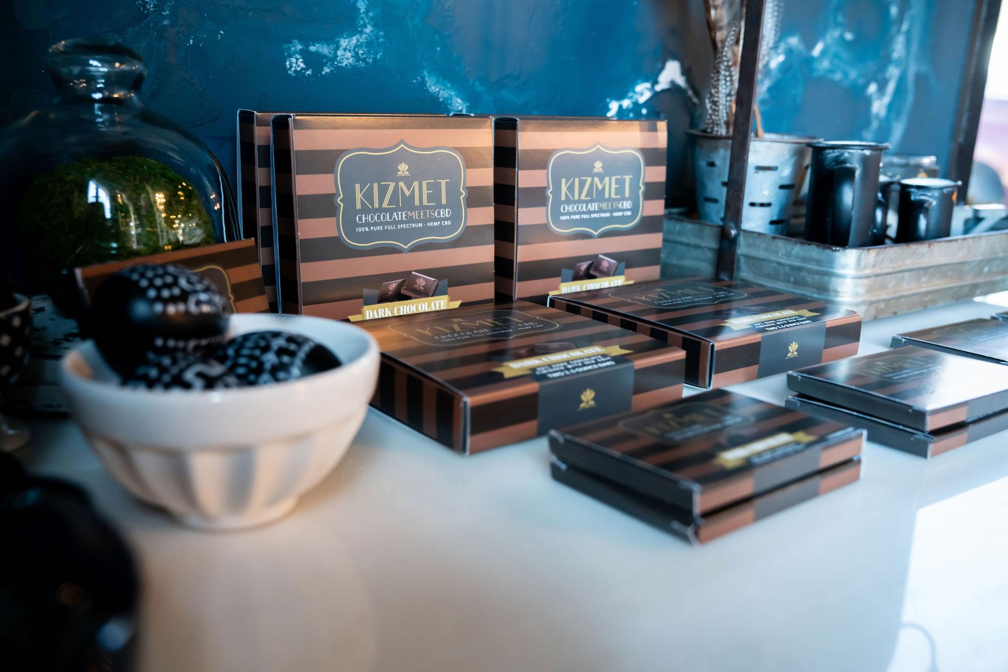 Kizmet Chocolate Bars - Dark Chocolate