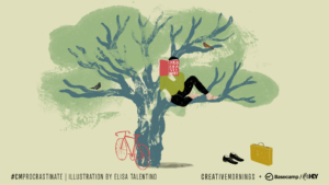 #CMProcrastinate Theme Art